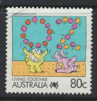 Australia SG 1133  SC# 1075  Used / FU  Performing Arts