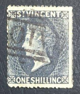 MOMEN: ST VINCENT SG #9 1866 USED £140 LOT #61471