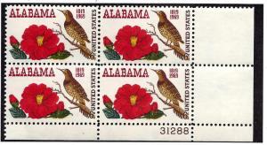 1375 Mint,OG,NH... Plate Block of 4... SCV $1.00
