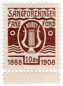(I.B) Norway Cinderella : Singing Association Fund 10 Ore