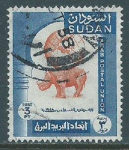 Sudan, Sc #122, 3pi Used