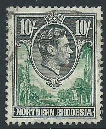 Northern Rhodesia  SG 44 VFU
