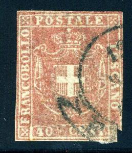 ITALY STATES TUSCANY SCOTT# 21 SAS# 21 USED AS SHOWN