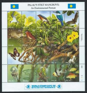 PALAU SC# 221 VF MNH 1989