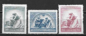 Czechoslovakia B147-49 Lullaby set MNH