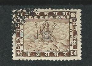 Nepal # 26  Issue of 1907   (1) VF Used