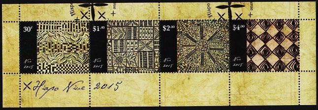 Niue. 2015 Miniature Sheet.  Fine Used