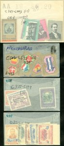 EDW1949SELL : HONDURAS 4 Better Complete sets. All Very Fine, Mint NH. Cat $42.