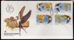 Ciskei 1984 Migratory Birds (Martins & Swallows) set ...