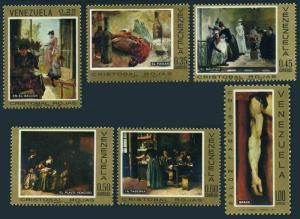 Venezuela 938-943,MNH. Michel 1787-1792. Paintings by Chrisrobal Rojas,1969.