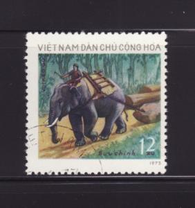 North Vietnam 724 U Animals, Elephant