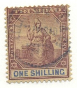 TRINIDAD #99, Used, Scott $24.00