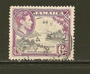 Jamaica 123 King George VI  Used