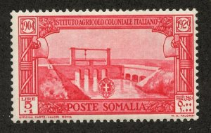 Italian Somaliland, Scott #B37, Unused, Hinged
