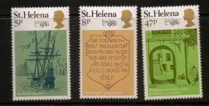 ST.HELENA SG362/4 1980 LONDON 80 MNH