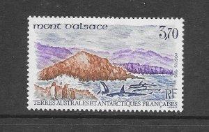 FRENCH SOUTHERN ANTARCTIC TERRITORY #207 MT. ATSACE  MNH