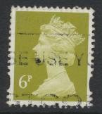 Great Britain Machin 6p from Stamp Show London 2000 MS 2146 SC# MH59