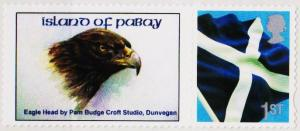 Great Britain(Pabay). 1999? 1st(Self Adhesive).Unmounted Mint