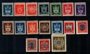 San Marino #242-256  Mint  Scott $87.50