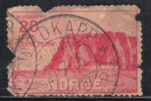 NORWAY SC# B2 *USED*  20o+25o 1930 SEE SCAN