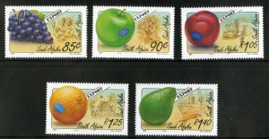 SOUTH AFRICA 873-7 MNH SCV $4.55 BIN $2.65 FRUIT