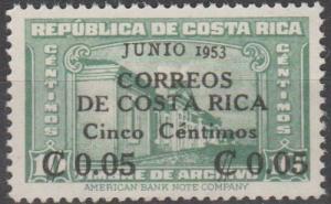 Costa Rica #257  MNH F-VF  (SU1414)