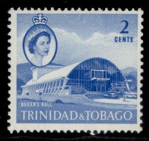 TRINIDAD & TOBAGO QEII SG285a, 2c blue, M MINT.
