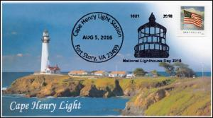 16-415, 2016, Cape Henry Light, National Lighthouse Day, Pictorial, Event