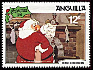 Anguilla 459, MNH, Disney The Night Before Christmas 1981