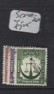 PAKISTAN (PP3007B)  SG 24A-26A      VFU
