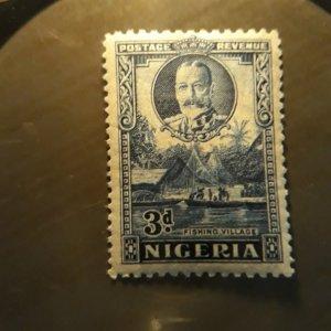 nigeria 26  1921 3d unused vf