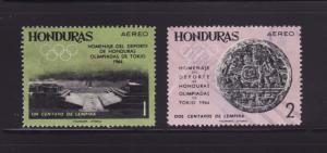 Honduras C336-C337 U Sports, Olympics (D)
