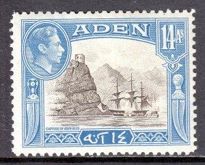 Aden - Scott #23A - MH - SCV $4.00