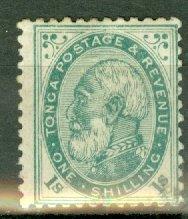 B: Tonga 5 mint CV $62.50