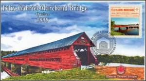 CA19-042, 2019, Historic Covered Bridges, Pictorial Postmark, First Day Cover,