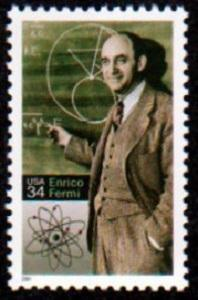3533 Enrico Fermi F-VF MNH single