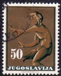 Yugoslavia 683 - Cto - 50d Kairos (god) (1962)