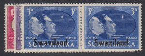 SWAZILAND, Scott 38-40, MLH
