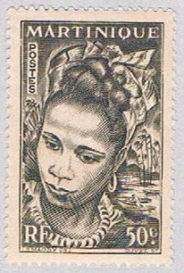 Martinique 219 MLH Martinique girl 1947 (BP3849)