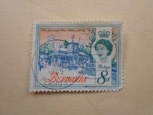 BERMUDA STAMP. USED  NO HINGE MARKS.( 9 )