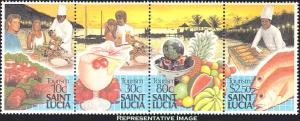 Saint Lucia Scott 921 Mint never hinged.