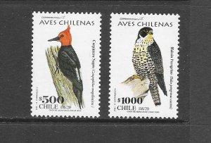 BIRDS - CHILE #1418-19  MNH