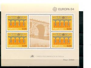 Portugal Europa  1984  Mint  VF NH   - Lakeshore Philatelics