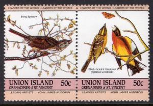 St Vincent Grenadines Union Island 187 Birds MNH VF