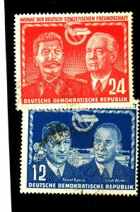 German Dem Rep #92-3 Used F-VF