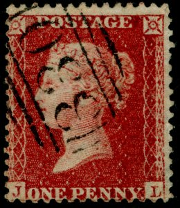SG40, 1d rose-red PLATE 49, LC14, FINE USED. Cat £18. JL