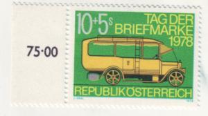 J192 jls stamp 1978 mnh swiss transportation antique bus