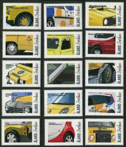 HERRICKSTAMP NEW ISSUES ALAND Exhibitions 2013 Vehicles Stamps