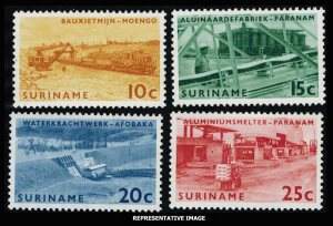 Surinam  319-322 Mint never hinged.