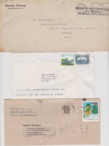 CANADA COVERS ODDITIES CENDERELLAS STAMPS LOT#C-196